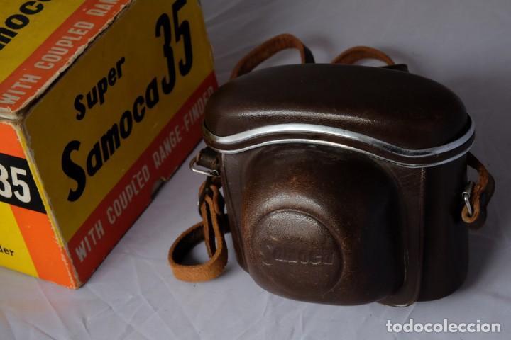 Cámara de fotos: SAMOCA 35, SUPER en caja, Funda cuero. - Foto 2 - 168699776