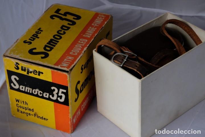 Cámara de fotos: SAMOCA 35, SUPER en caja, Funda cuero. - Foto 4 - 168699776
