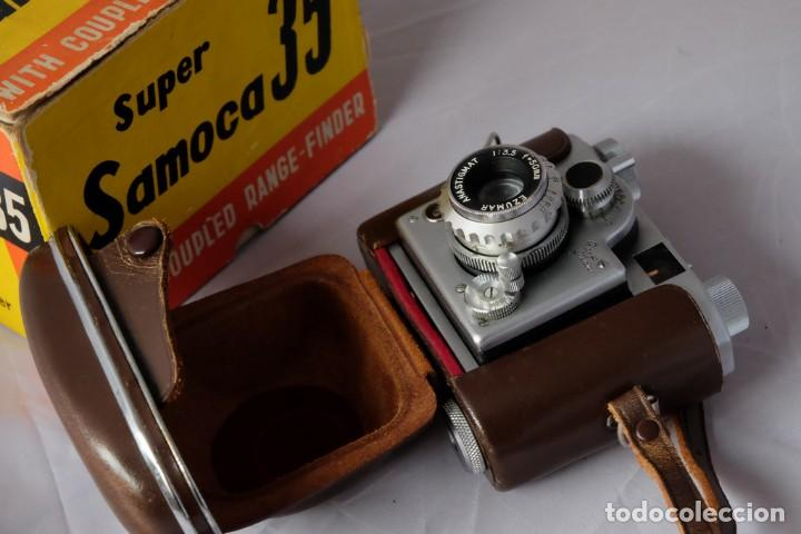 Cámara de fotos: SAMOCA 35, SUPER en caja, Funda cuero. - Foto 5 - 168699776