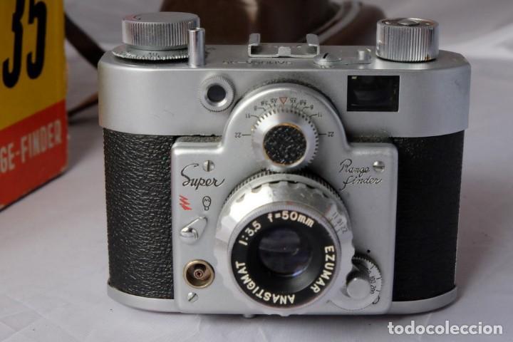 Cámara de fotos: SAMOCA 35, SUPER en caja, Funda cuero. - Foto 6 - 168699776