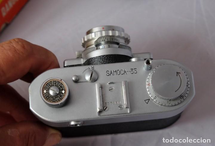 Cámara de fotos: SAMOCA 35, SUPER en caja, Funda cuero. - Foto 7 - 168699776