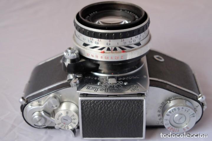 Cámara de fotos: Exakta Varex VX impecable, con 50 Carl Zeiss Pancolar - Foto 3 - 168700272