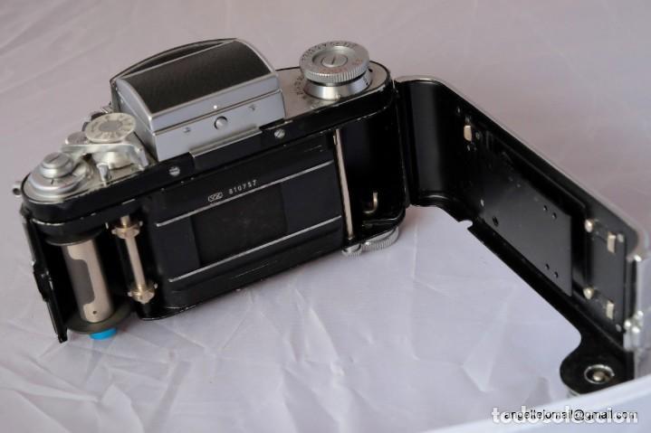 Cámara de fotos: Exakta Varex VX impecable, con 50 Carl Zeiss Pancolar - Foto 5 - 168700272