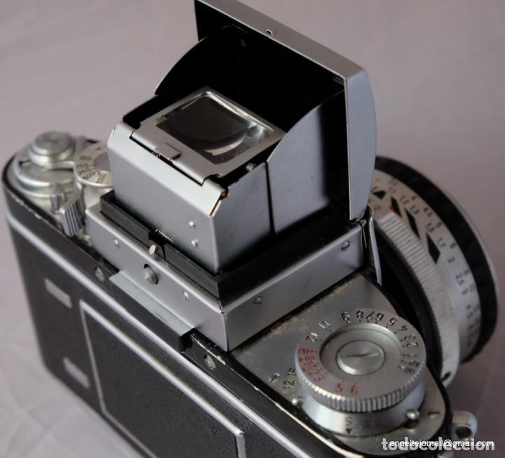 Cámara de fotos: Exakta Varex VX impecable, con 50 Carl Zeiss Pancolar - Foto 2 - 168700272