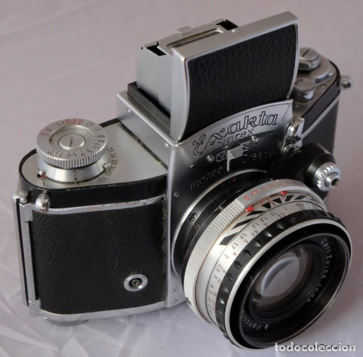 Cámara de fotos: Exakta Varex VX impecable, con 50 Carl Zeiss Pancolar - Foto 8 - 168700272