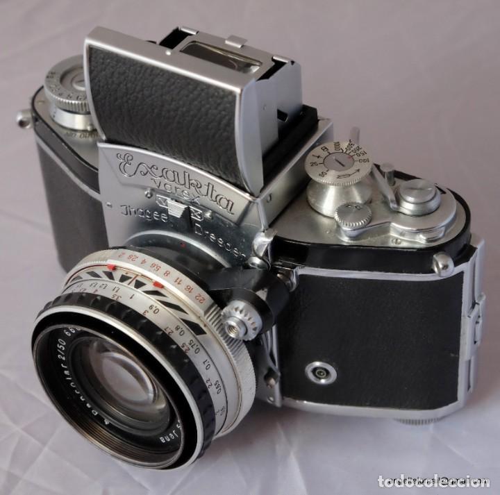 Cámara de fotos: Exakta Varex VX impecable, con 50 Carl Zeiss Pancolar - Foto 9 - 168700272