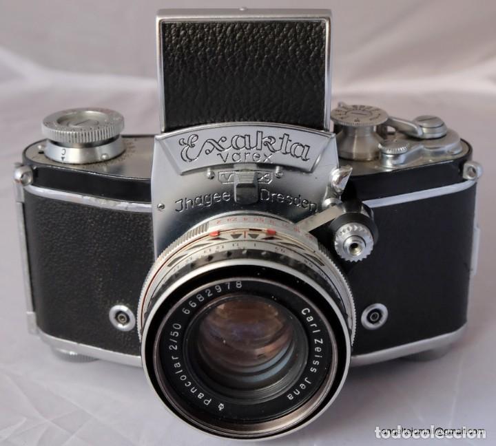 Cámara de fotos: Exakta Varex VX impecable, con 50 Carl Zeiss Pancolar - Foto 10 - 168700272