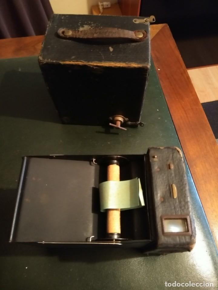 Cámara de fotos: Camara Brownie nº 2 A Modelo B de Eastman-Kodak de 1909 - Foto 8 - 168815552