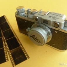 Cámara de fotos - Camara FED 1 - Copia Leica II - Rotulada Leica dificil encontrar. Fin años 40. Probada con pelicula. - 169061244