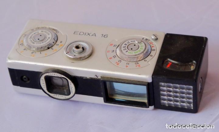 EDIXA 16, MINI CAMERA 16 MM. (Cámaras Fotográficas - Antiguas (hasta 1950))