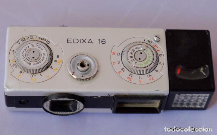 Cámara de fotos: EDIXA 16, mini camera 16 mm. - Foto 2 - 169117928