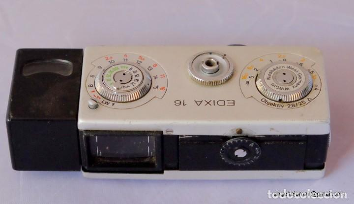 Cámara de fotos: EDIXA 16, mini camera 16 mm. - Foto 3 - 169117928