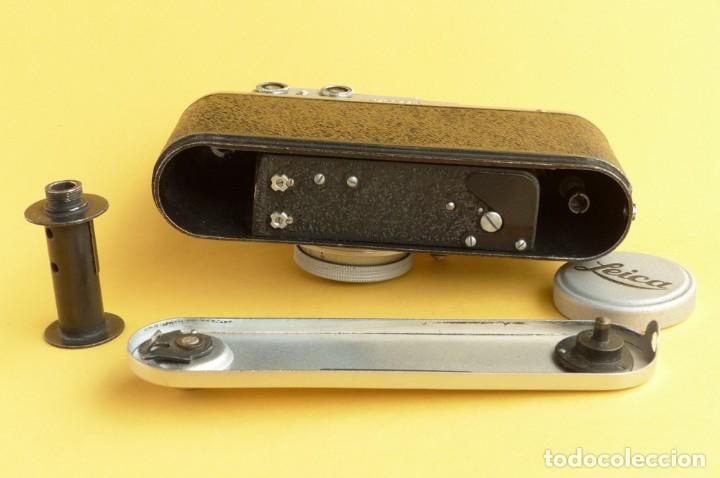 Cámara de fotos: Camara Copia Leica II - Fed Rotulada Leica.. Fin años 40. Probada con pelicula. Funda. - Foto 9 - 169061244