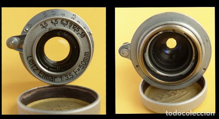 Cámara de fotos: Camara Copia Leica II - Fed Rotulada Leica.. Fin años 40. Probada con pelicula. Funda. - Foto 7 - 169061244