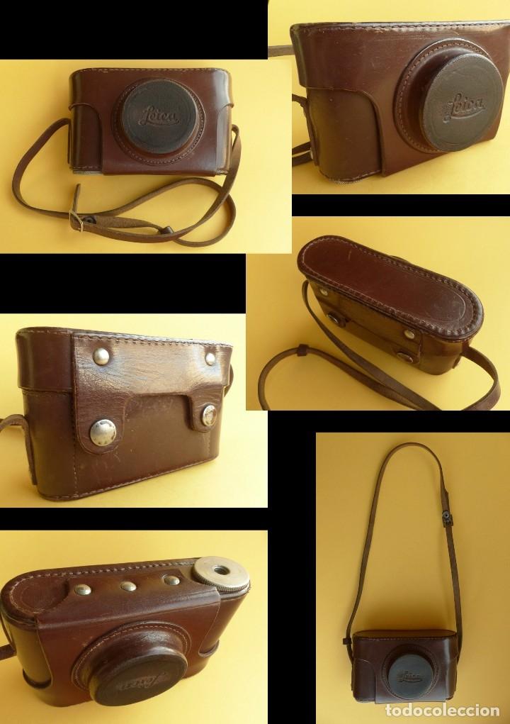 Cámara de fotos: Camara Copia Leica II - Fed Rotulada Leica.. Fin años 40. Probada con pelicula. Funda. - Foto 11 - 169061244
