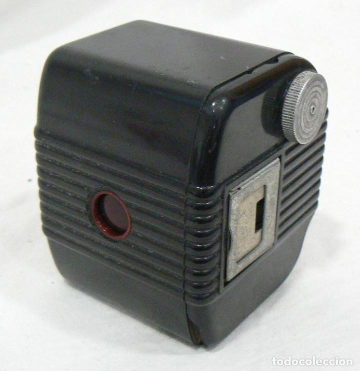 Cámara de fotos: Antigua cámara fotográfica Kodak Baby Brownie de baquelita USA 1934 - Foto 4 - 169917244