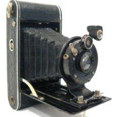 Cámara de fotos: ANTIGUA Y PEQUEÑA CÁMARA FOTOGRÁFICA DE FUELLE ZEISS IKON COCARETTE USA 1926. Lote 170014800