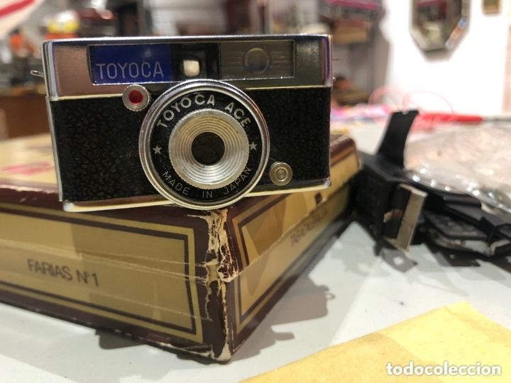 MINI CÁMARA DE FOTOS. TOYOCA MADE IN JAPAN ORIGINAL DE EPOCA (Cámaras Fotográficas - Antiguas (hasta 1950))