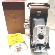 Cámara de fotos: POLAROID 95 LAND CAMERA FOTOGRÁFICA INSTANTÁNEA DE GRAN FORMATO Y FUELLE AÑO 1948. Lote 195431197