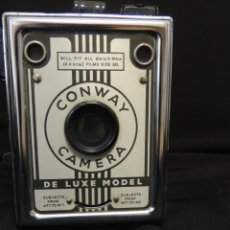 Cámara de fotos: CORONET CONWAY CAMERA DE LUXE MODEL. Lote 172906227