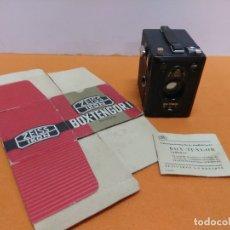 Cámara de fotos: CÁMARA ZEISS IKON BOX TENGOR 1934. NUEVA CON CAJA Y LIBRO. Lote 173200225