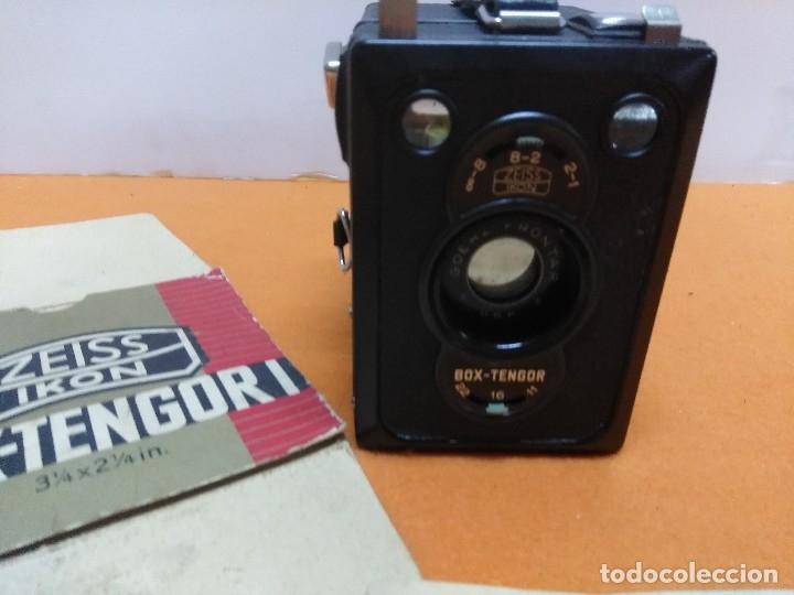 Cámara de fotos: CÁMARA ZEISS IKON BOX TENGOR 1934. NUEVA CON CAJA Y LIBRO - Foto 4 - 173200225