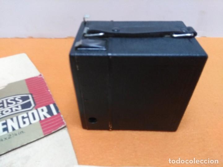 Cámara de fotos: CÁMARA ZEISS IKON BOX TENGOR 1934. NUEVA CON CAJA Y LIBRO - Foto 5 - 173200225