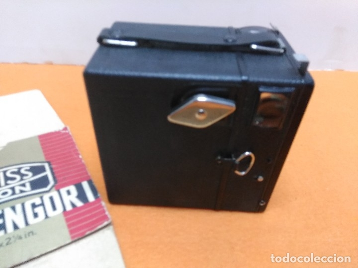 Cámara de fotos: CÁMARA ZEISS IKON BOX TENGOR 1934. NUEVA CON CAJA Y LIBRO - Foto 7 - 173200225