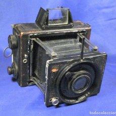 Cámara de fotos: ERNEMANN KLAPP CAMERA 6,5X9. Lote 173201323