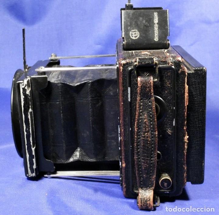 Cámara de fotos: Ernemann Klapp Camera 6,5x9 - Foto 2 - 173201323