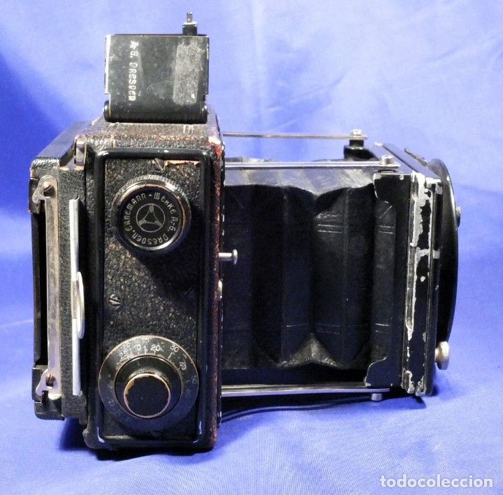 Cámara de fotos: Ernemann Klapp Camera 6,5x9 - Foto 4 - 173201323