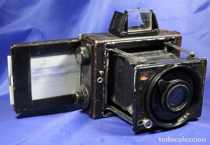 Cámara de fotos: Ernemann Klapp Camera 6,5x9 - Foto 9 - 173201323