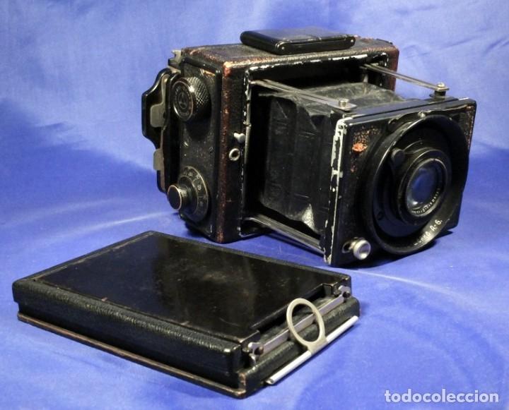 Cámara de fotos: Ernemann Klapp Camera 6,5x9 - Foto 11 - 173201323