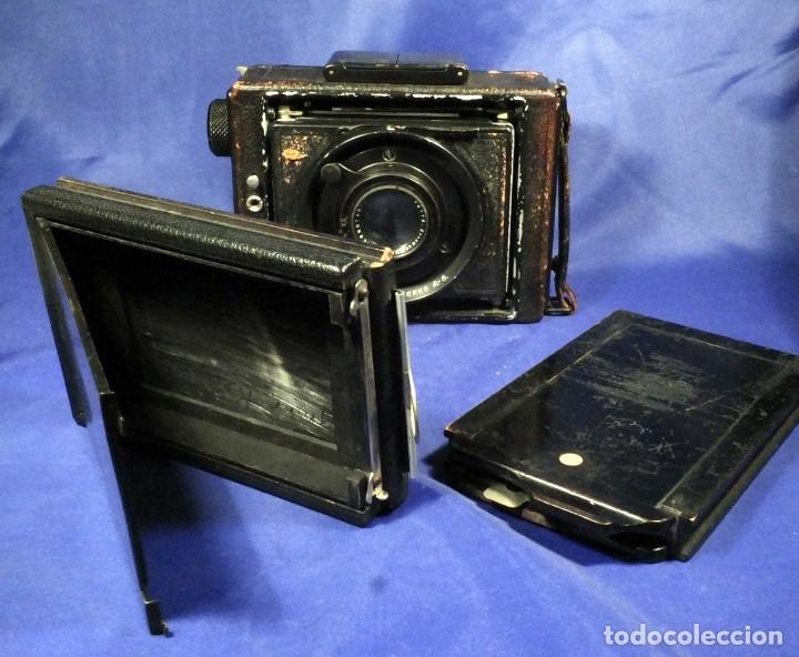 Cámara de fotos: Ernemann Klapp Camera 6,5x9 - Foto 12 - 173201323