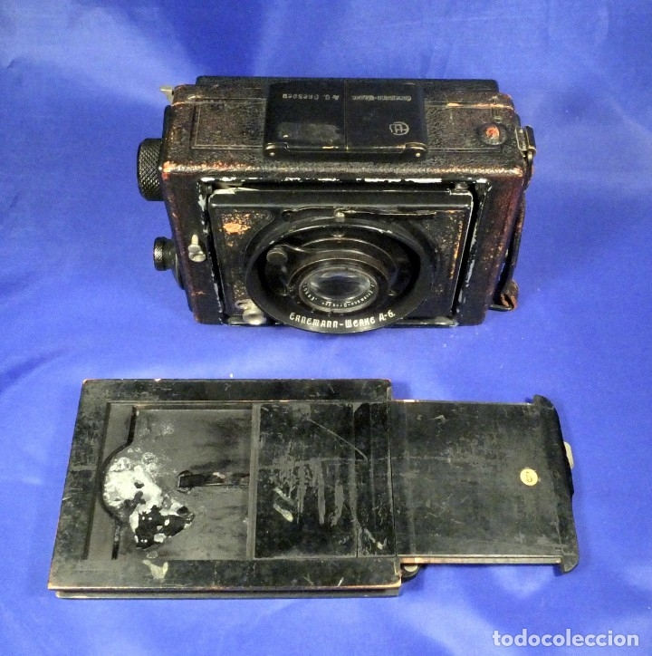 Cámara de fotos: Ernemann Klapp Camera 6,5x9 - Foto 13 - 173201323