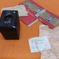 Cámara de fotos: CÁMARA ZEISS IKON BOX TENGOR 1934. NUEVA CON CAJA . Lote 173201744