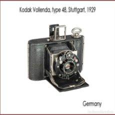 Cámara de fotos: KODAK VOLLENDA, ATRACTIVA CAMARA PLEGABLE ANTIGUA FABRICADA EN ALEMANIA. MUY BUEN ESTADO.. Lote 173302930