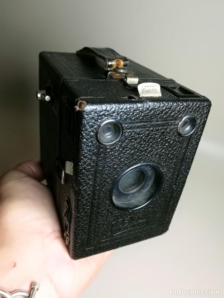 Cámara de fotos: ZEISS IKON BOX TENGOR 54/2------AÑOS 1928/34, ALEMANIA,CARRETE DE 120MM - Foto 2 - 173683397