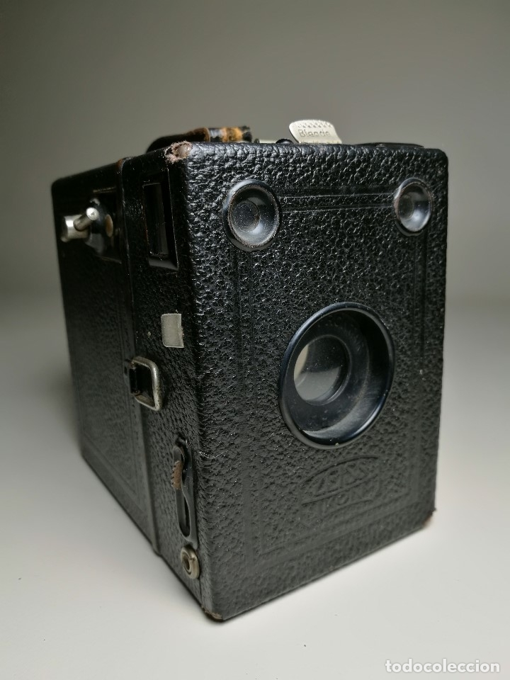 Cámara de fotos: ZEISS IKON BOX TENGOR 54/2------AÑOS 1928/34, ALEMANIA,CARRETE DE 120MM - Foto 4 - 173683397