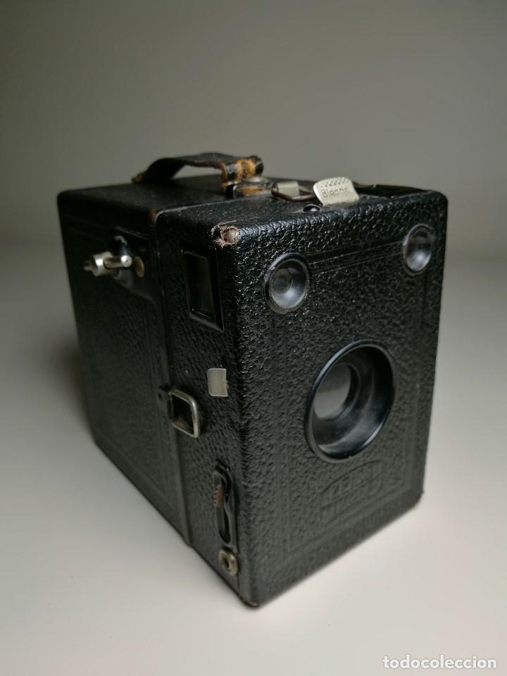 Cámara de fotos: ZEISS IKON BOX TENGOR 54/2------AÑOS 1928/34, ALEMANIA,CARRETE DE 120MM - Foto 5 - 173683397