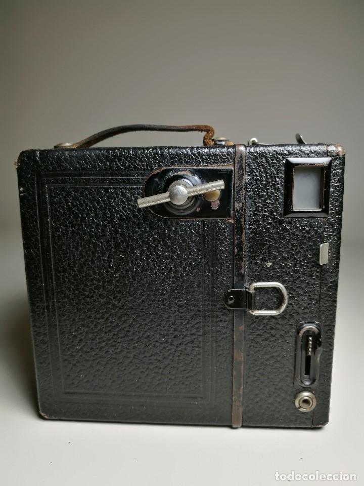 Cámara de fotos: ZEISS IKON BOX TENGOR 54/2------AÑOS 1928/34, ALEMANIA,CARRETE DE 120MM - Foto 6 - 173683397