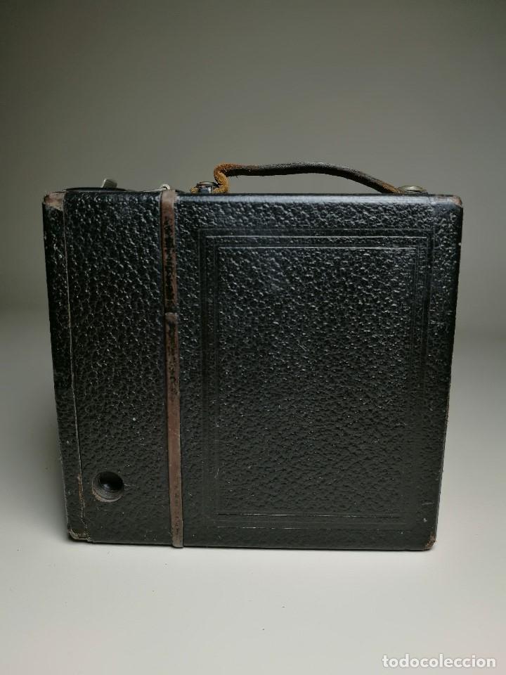 Cámara de fotos: ZEISS IKON BOX TENGOR 54/2------AÑOS 1928/34, ALEMANIA,CARRETE DE 120MM - Foto 8 - 173683397