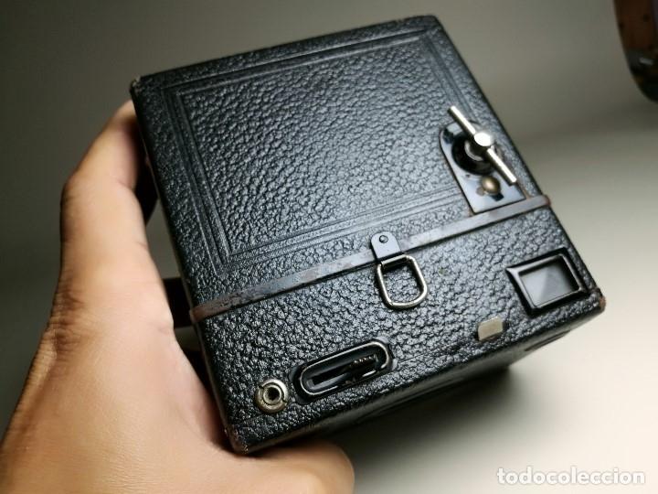 Cámara de fotos: ZEISS IKON BOX TENGOR 54/2------AÑOS 1928/34, ALEMANIA,CARRETE DE 120MM - Foto 14 - 173683397