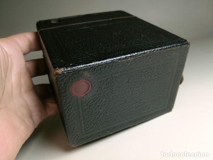 Cámara de fotos: ZEISS IKON BOX TENGOR 54/2------AÑOS 1928/34, ALEMANIA,CARRETE DE 120MM - Foto 16 - 173683397