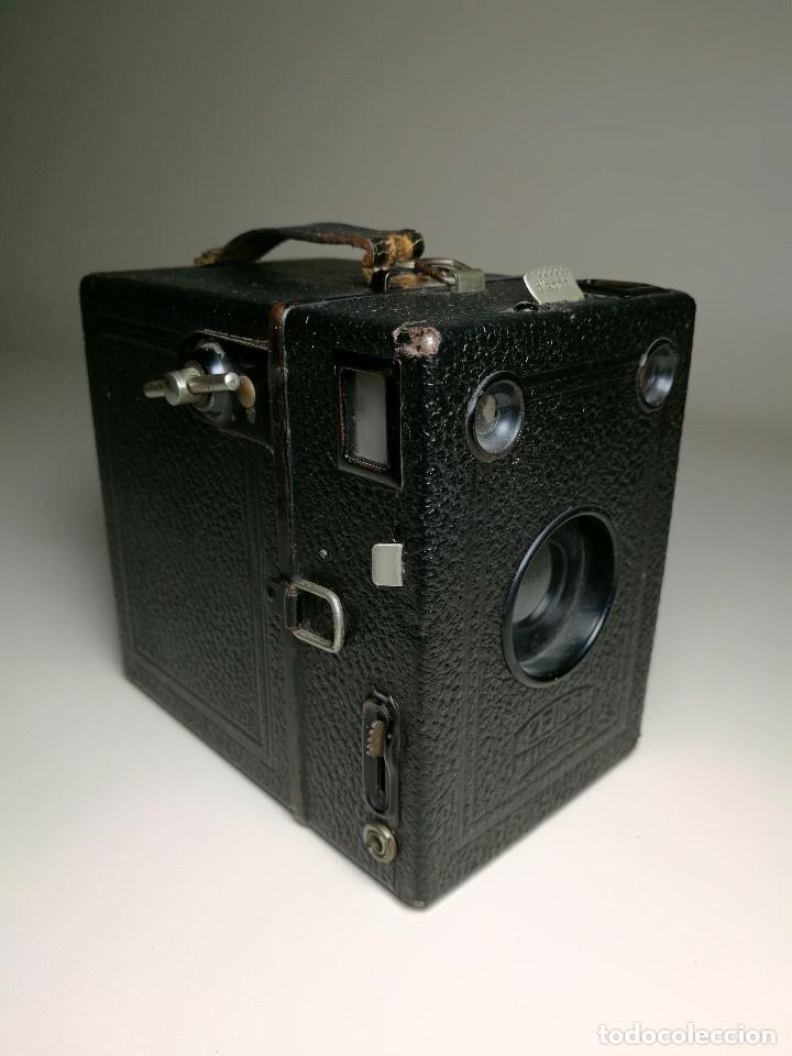 Cámara de fotos: ZEISS IKON BOX TENGOR 54/2------AÑOS 1928/34, ALEMANIA,CARRETE DE 120MM - Foto 17 - 173683397