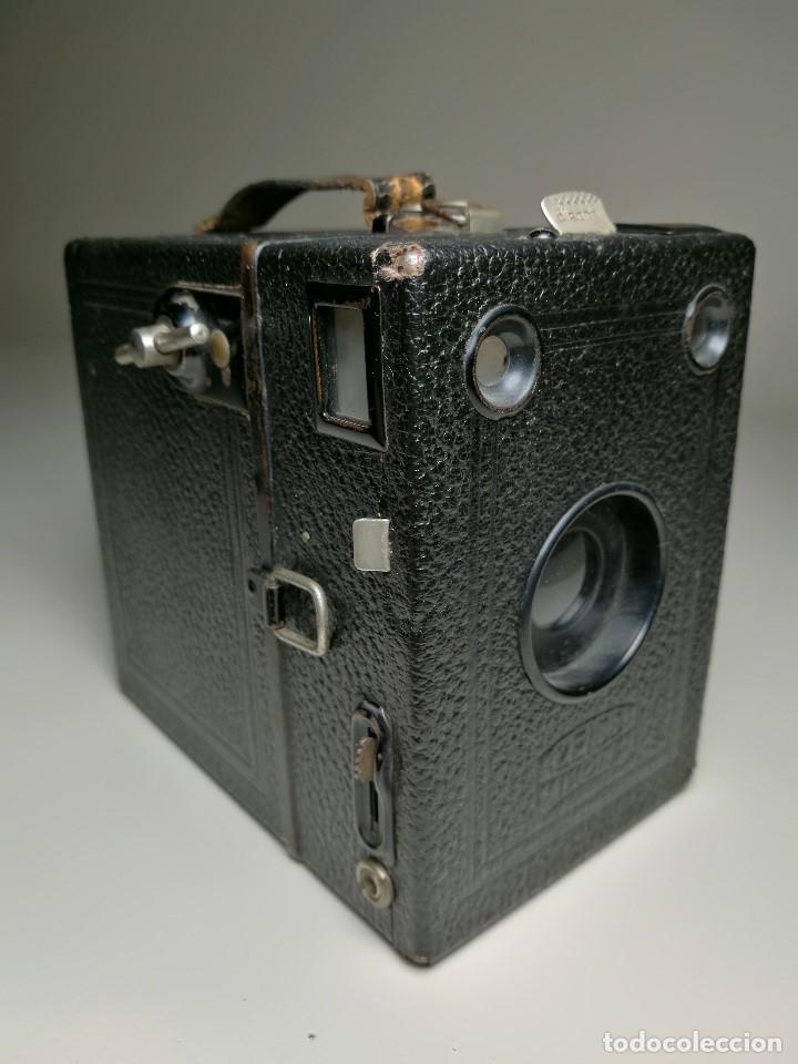Cámara de fotos: ZEISS IKON BOX TENGOR 54/2------AÑOS 1928/34, ALEMANIA,CARRETE DE 120MM - Foto 18 - 173683397