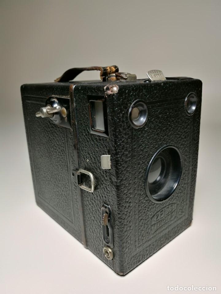 Cámara de fotos: ZEISS IKON BOX TENGOR 54/2------AÑOS 1928/34, ALEMANIA,CARRETE DE 120MM - Foto 19 - 173683397