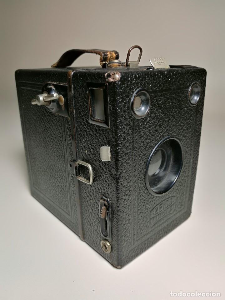 Cámara de fotos: ZEISS IKON BOX TENGOR 54/2------AÑOS 1928/34, ALEMANIA,CARRETE DE 120MM - Foto 20 - 173683397
