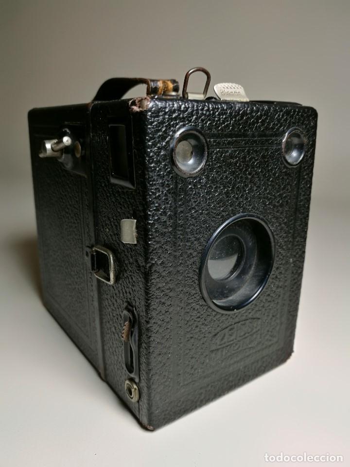 Cámara de fotos: ZEISS IKON BOX TENGOR 54/2------AÑOS 1928/34, ALEMANIA,CARRETE DE 120MM - Foto 21 - 173683397