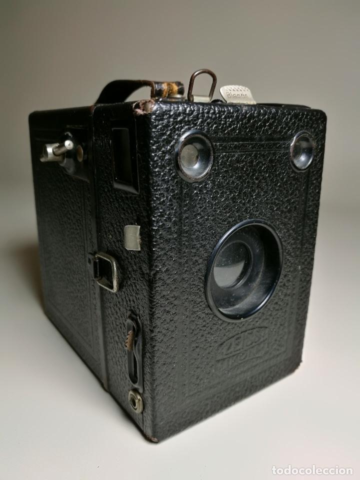 ZEISS IKON BOX TENGOR 54/2------AÑOS 1928/34, ALEMANIA,CARRETE DE 120MM (Cámaras Fotográficas - Antiguas (hasta 1950))